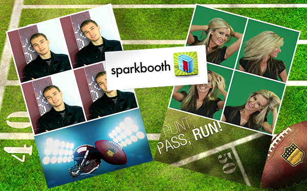 Sparkbooth Football Theme