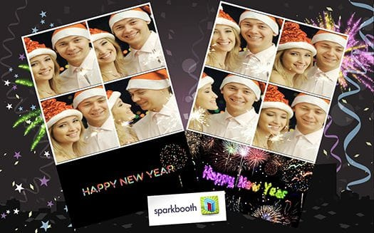 Sparkbooth New Year's Eve Theme
